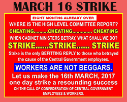 16th March Strike will be a Great Success – Confederation