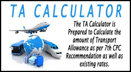 TA Calculator