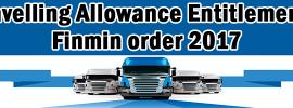 Travelling-Allowance-Entitlement---Finmin-order-2017