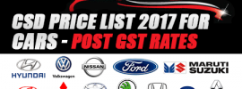 CSD Price List