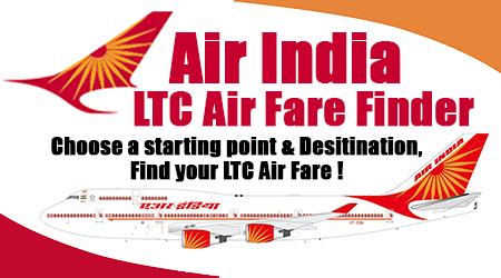 Air India LTC Air Fare Finder