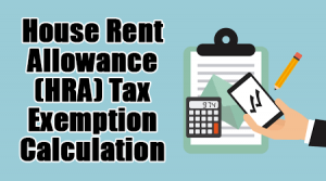 HRA Tax Exemption Calculation