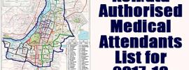 Kolkata Authorised Medical Attendants List