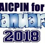 AICPIN for January 2018