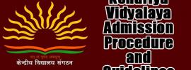 KV Admission Procedure