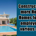 Construction of more Holiday Homes for Govt employees in various cities