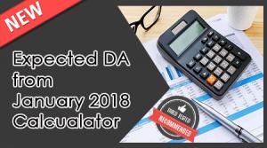 Expected DA from January 2019 Calculator